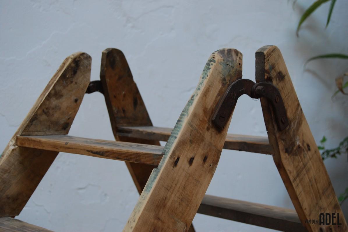 Ladder Decoratie : Pics Photos - Oude Houten Trap Voor Decoratie ...