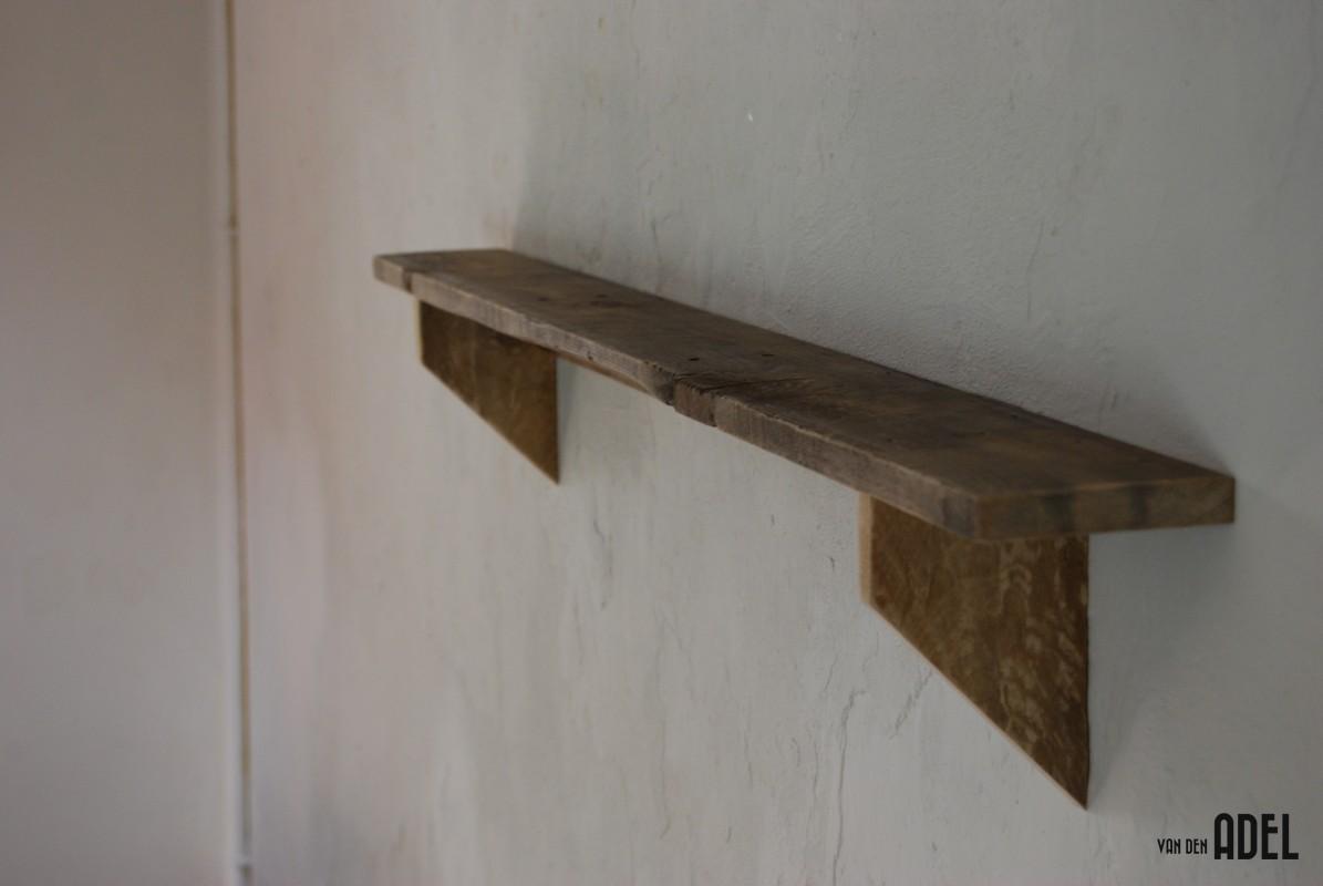 ... wandplank gemaakt van oude vloerplanken type smal afmetingen 16cm hoog