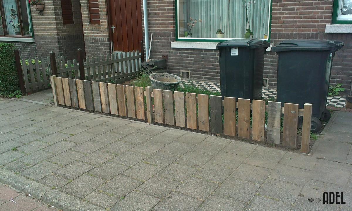 Hekwerk sloophout op maat - van den Adel Meubels