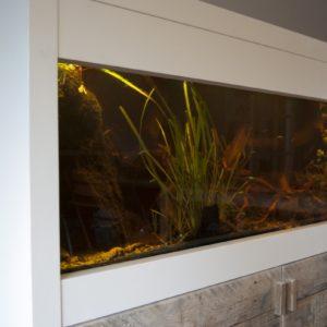 verrijdbaar aquarium ombouw met deurtjes en luikje4