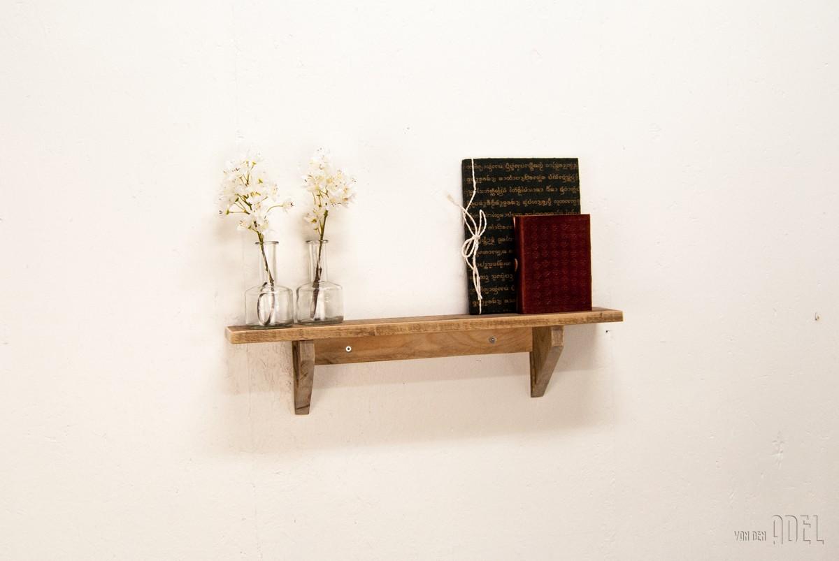 Wandplank 60x10x14 - van den Adel : Meubels op maat