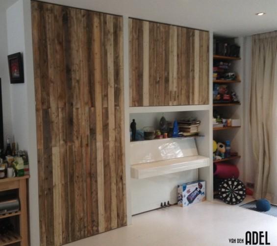 Inbouwkast voorzien van sloophout deuren01