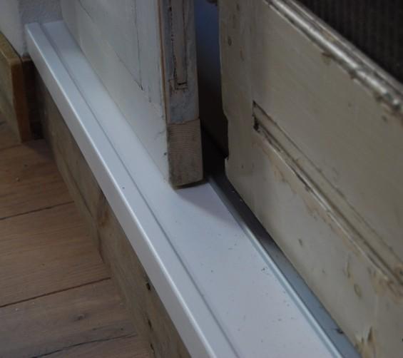 Oude deuren hergebruikt inbouw schuifdeuren kast 11