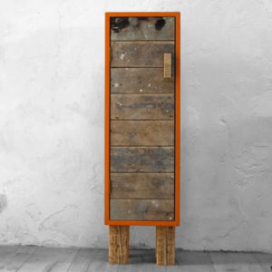 Diverse meubels Oranje opbergkast_uitgelicht