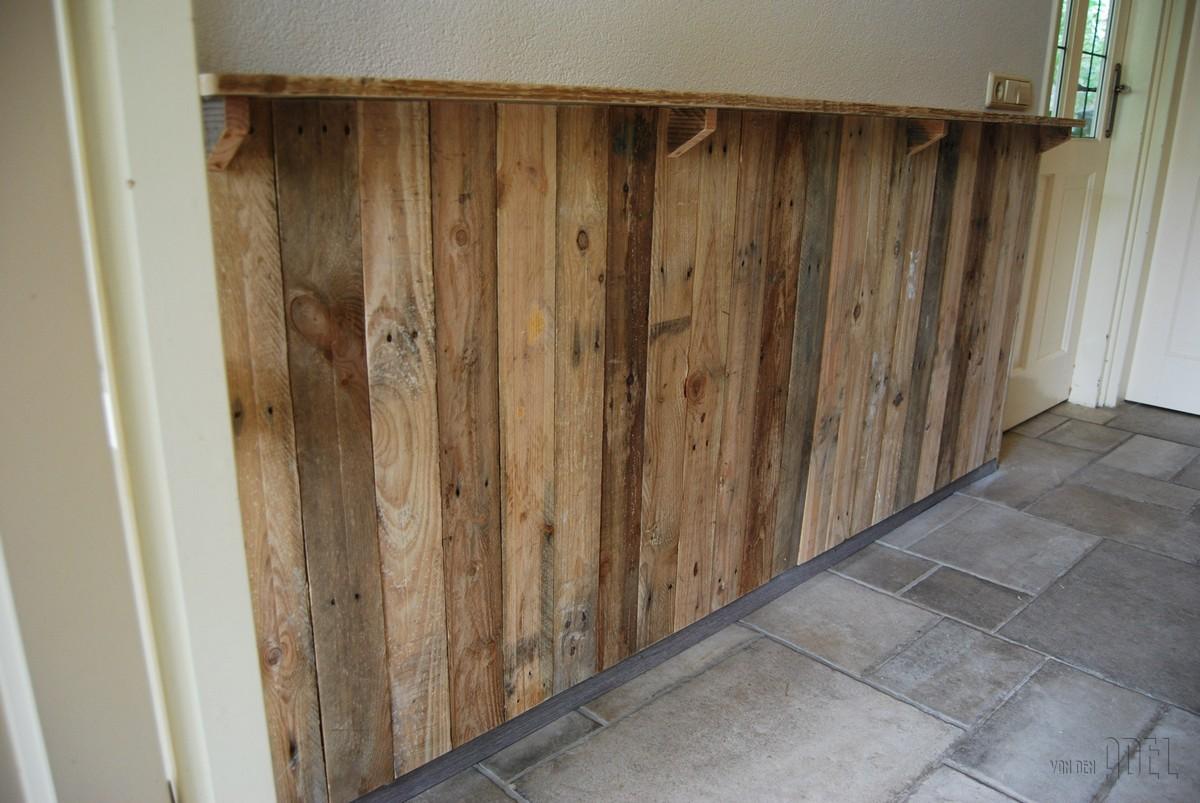 Lambrisering naar eigen idee prijs op aanvraag van den for Sloophout meubels