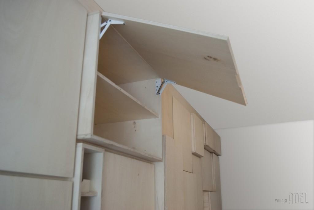 Keuken Wandkast 6 : Modulaire wandkast populieren multiplex keuken en berging van