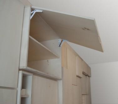 Wandkast populieren multiplex keuken en berging 650cm 14 detail