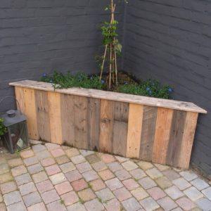 Moestuin kweekbak van palletrand van den adel meubels op maat - Voorbeeld van tuindecoratie ...