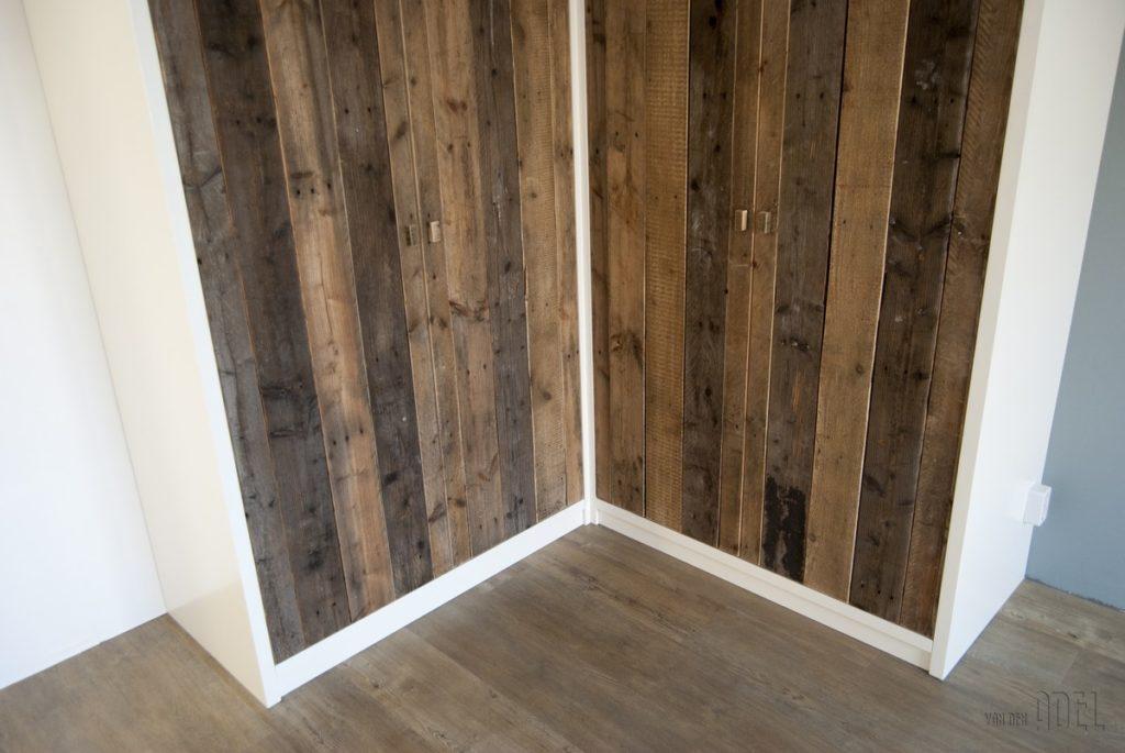 Hoekkast slaapkamer met sloophout deuren - van den Adel | Meubels op ...