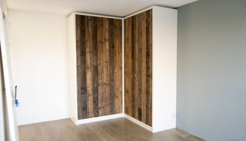 hoekkast slaapkamer met sloophout deuren hoekkast slaapkamer met ...