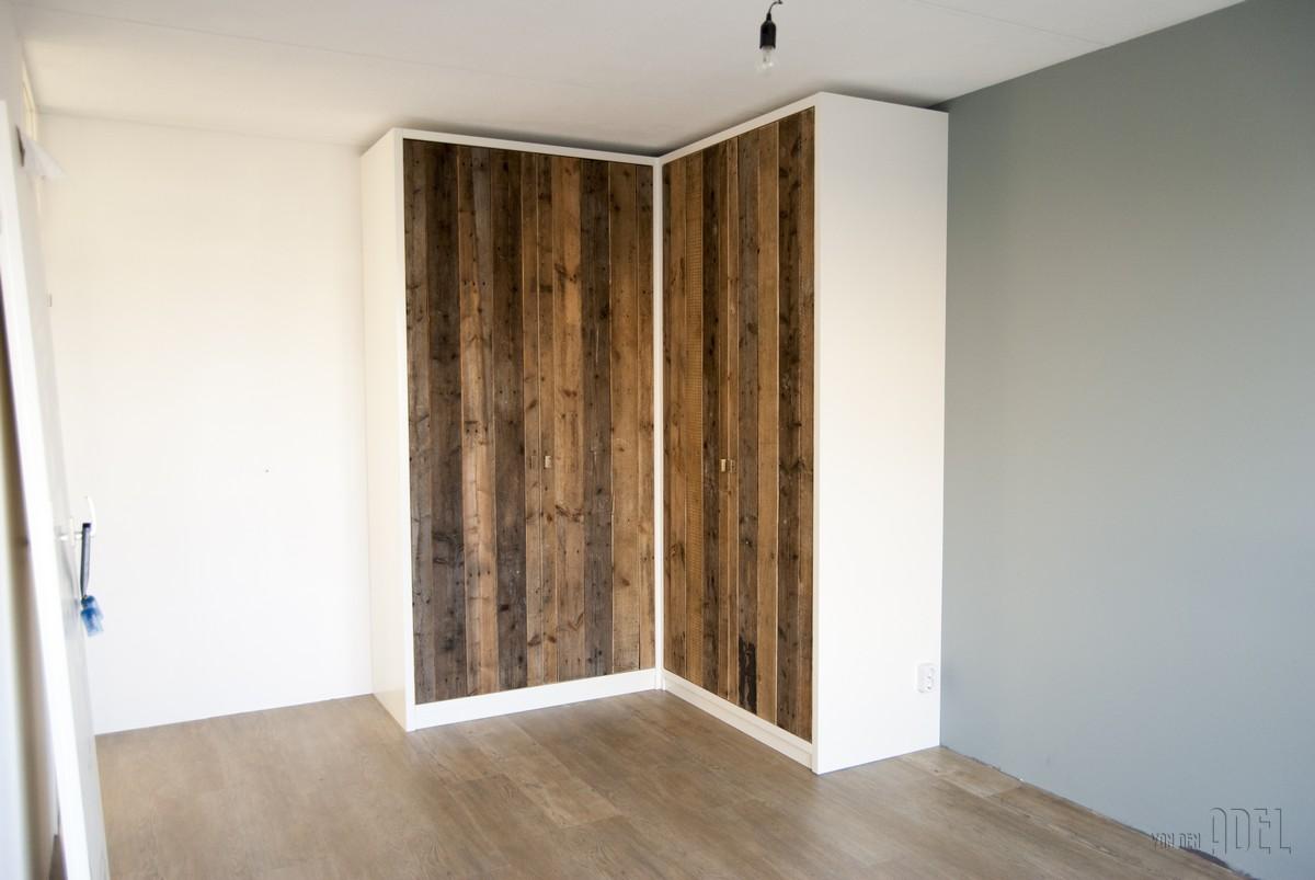 hoekkast slaapkamer met sloophout deuren - van den adel | meubels, Deco ideeën