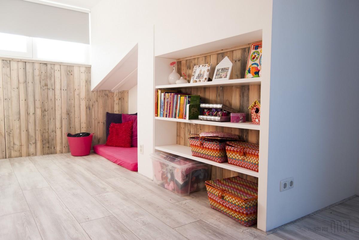 Zolderverbouwing Kinderkamer Sloophout Van Den Adel